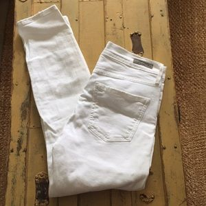 CITIZENS OF HUMANITY HIGH RISE DIST SKINNY JEAN 27